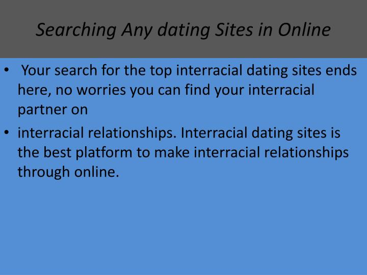 Searching Any dating Sites in Online