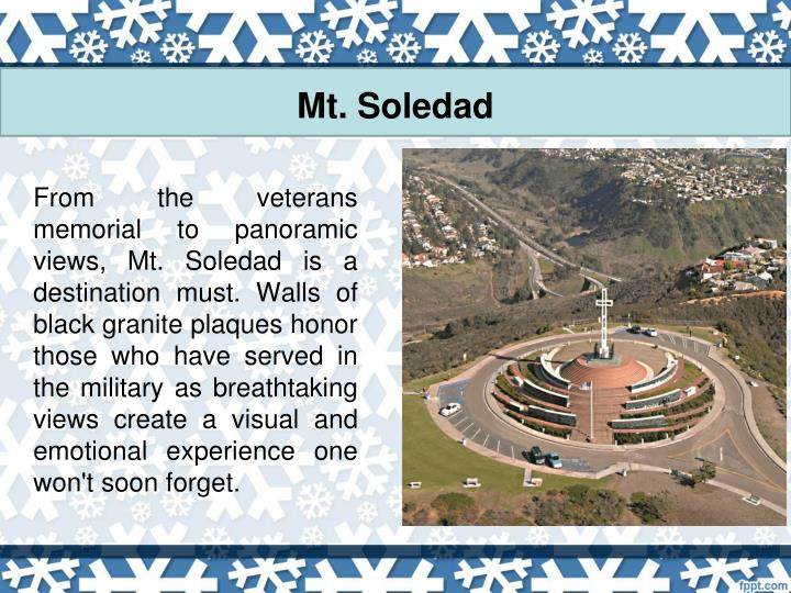 Mt. Soledad
