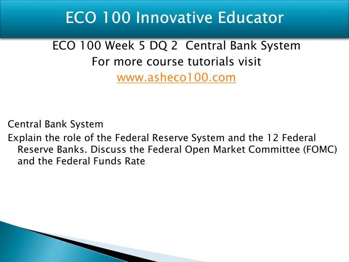 ECO 100