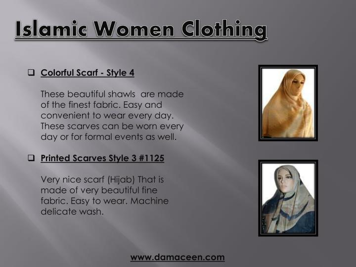 Islamic Women Clothing