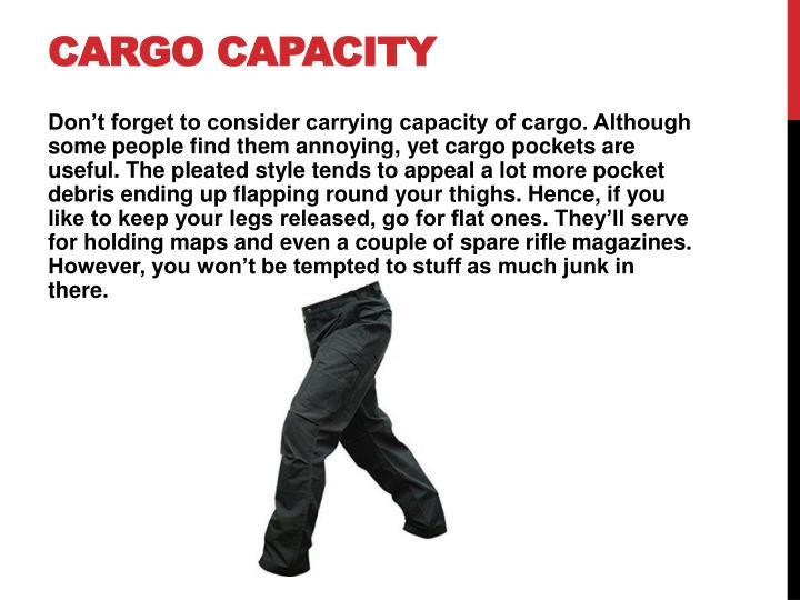 Cargo Capacity