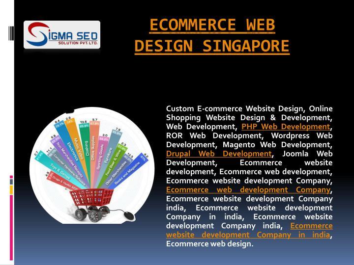 Custom E-commerce Website Design, Online Shopping Website Design & Development, Web Development,
