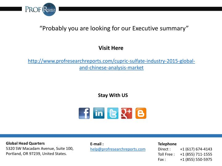 """Probably you are looking for our Executive summary"