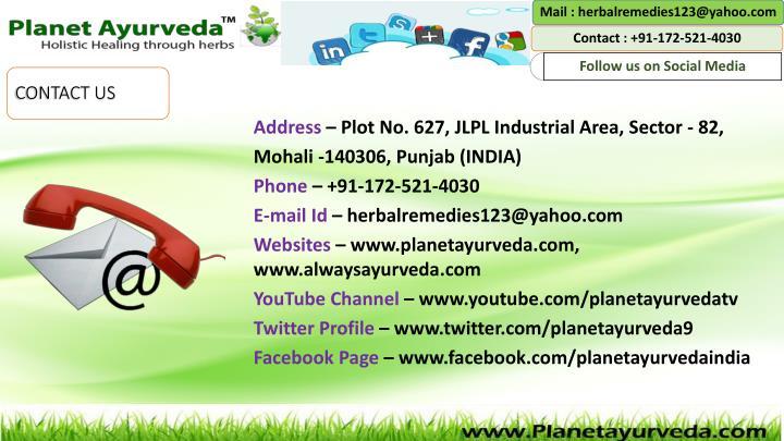 Mail : herbalremedies123@yahoo.com
