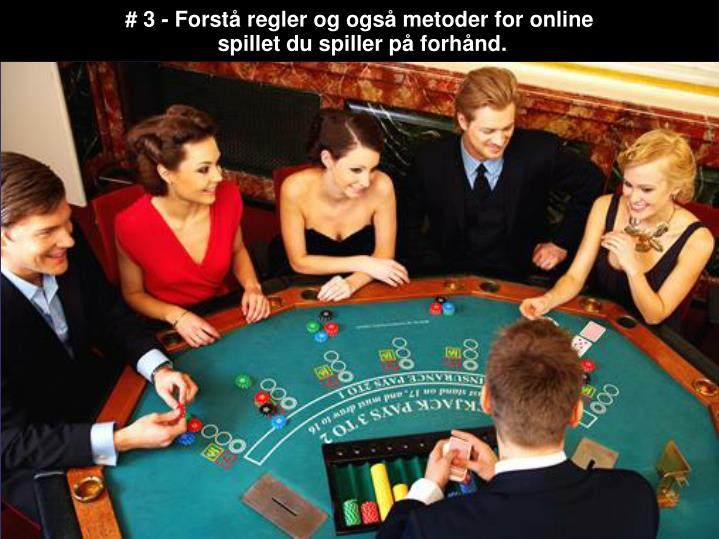 # 3 - Forstå regler og også metoder for online