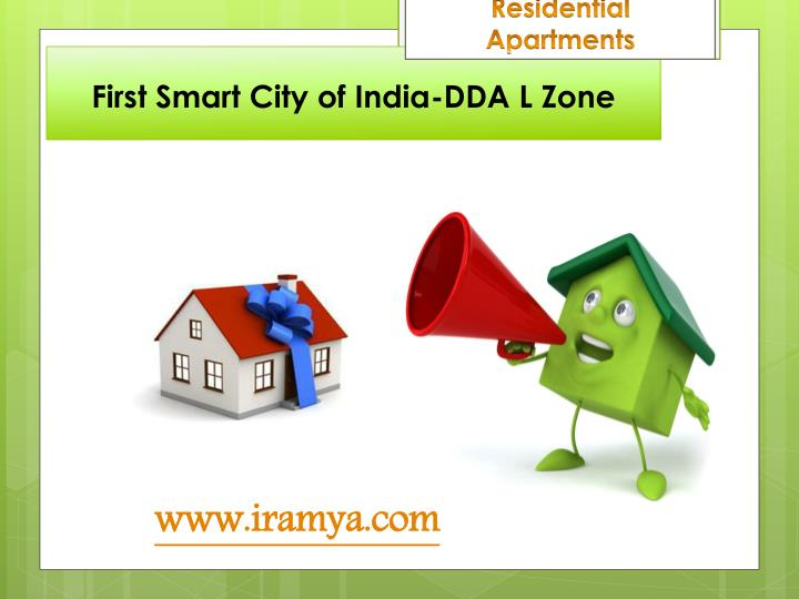 First smart city of india dda l zone