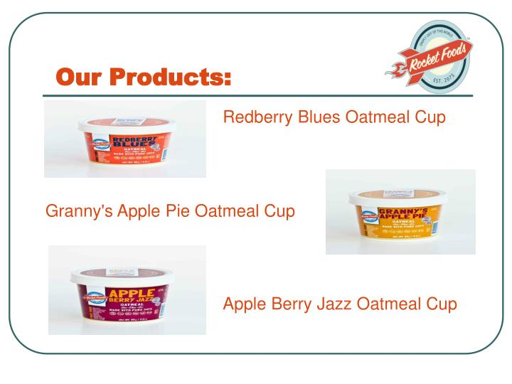Our Products: