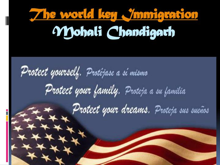 The world key Immigration