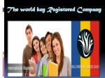 the world key registered company