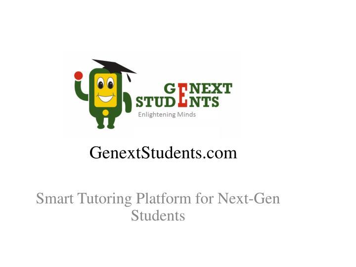 GenextStudents.com