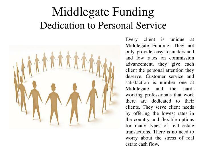 Middlegate Funding