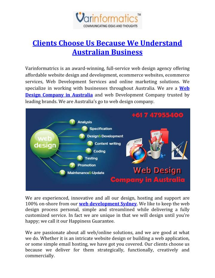 Clients Choose Us Because We Understand