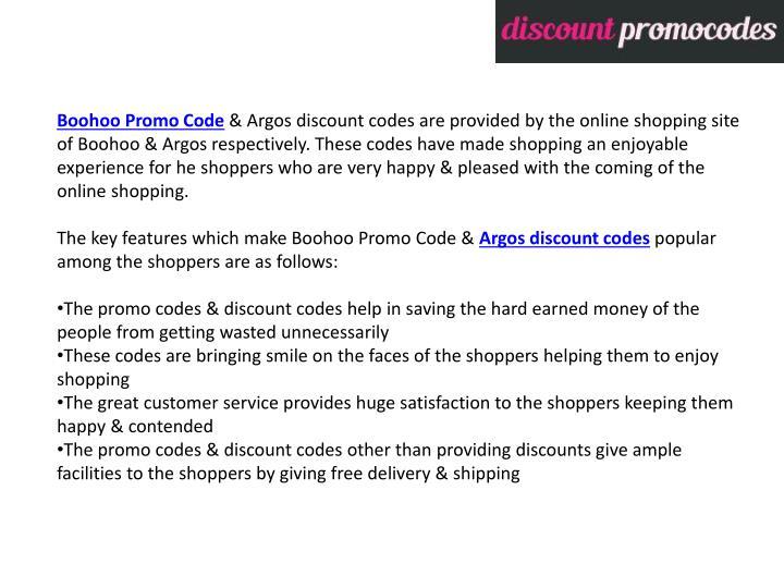 Boohoo Promo Code