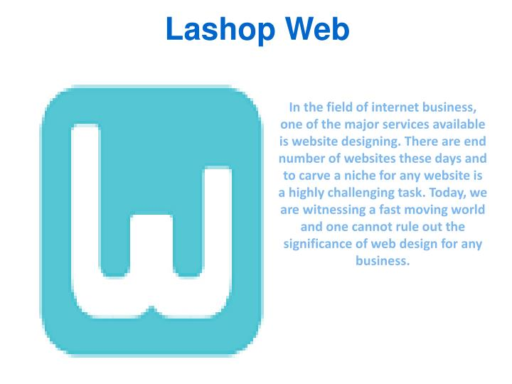 Lashop web