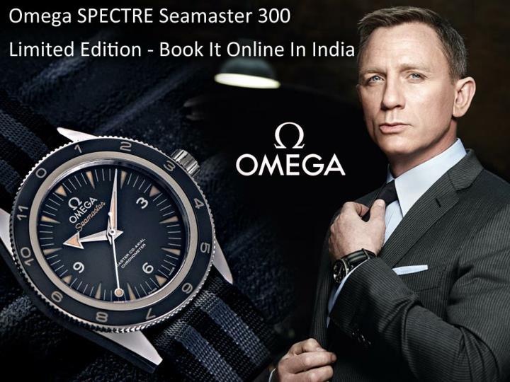 PPT - Omega SPECTRE Seamaster 300 Limited Edition