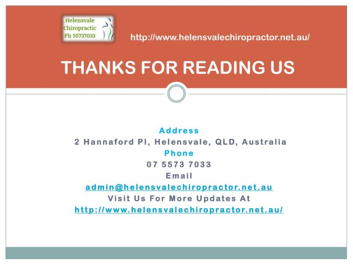 THANKS FOR READING US