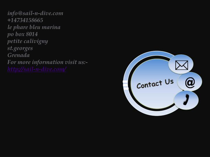 info@sail-n-dive.com