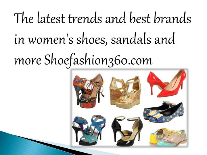 The latest trends and best brands