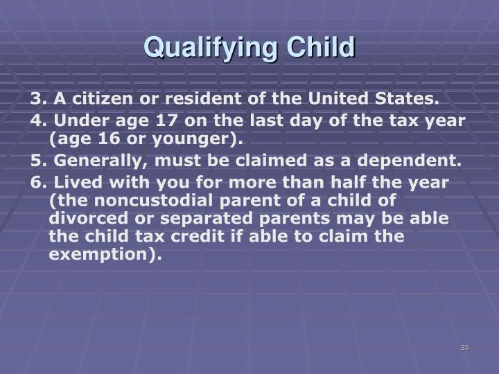 Qualifying Child