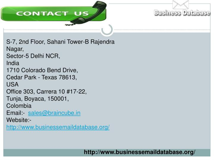 S-7, 2nd Floor, Sahani Tower-B Rajendra Nagar,