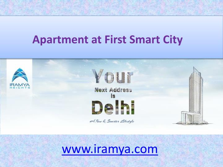 Apartment at First Smart City