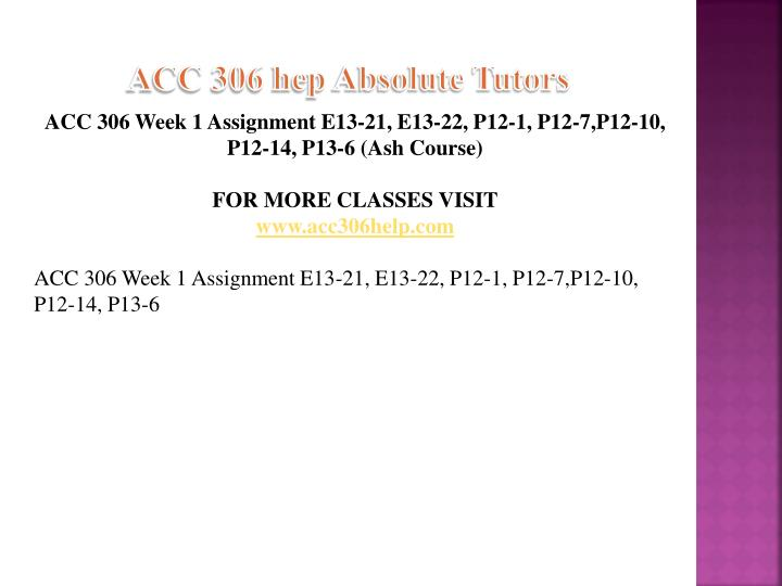 Acc 306 hep absolute tutors1