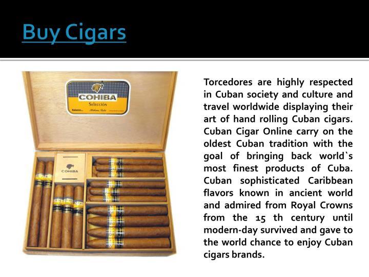 Buy Cigars