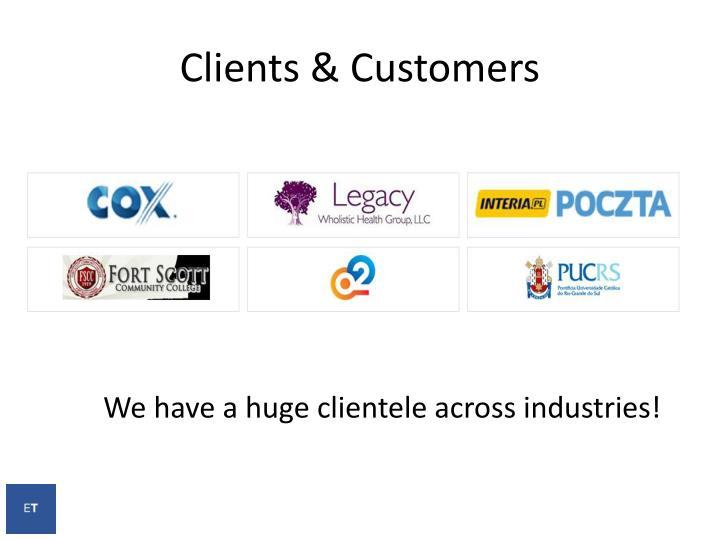 Clients &