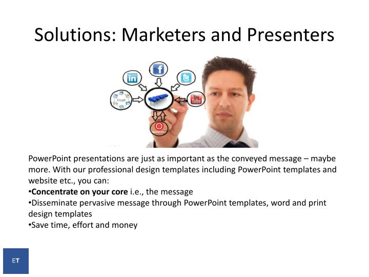Solutions: Marketers and