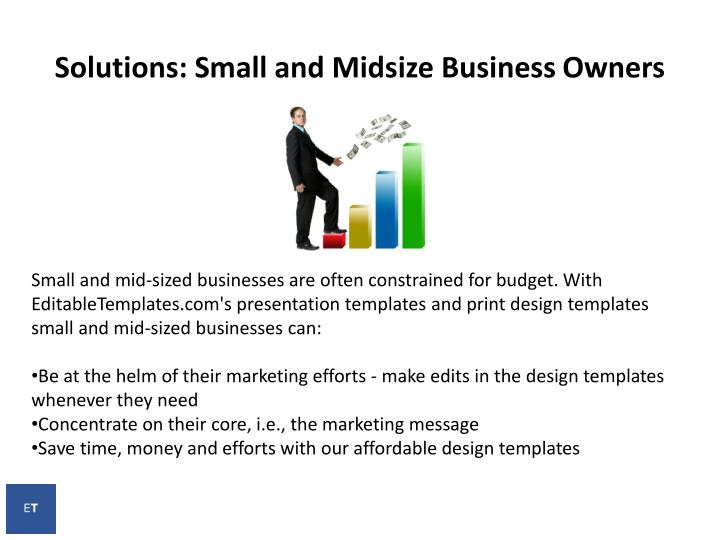 Solutions: Small and Midsize Business