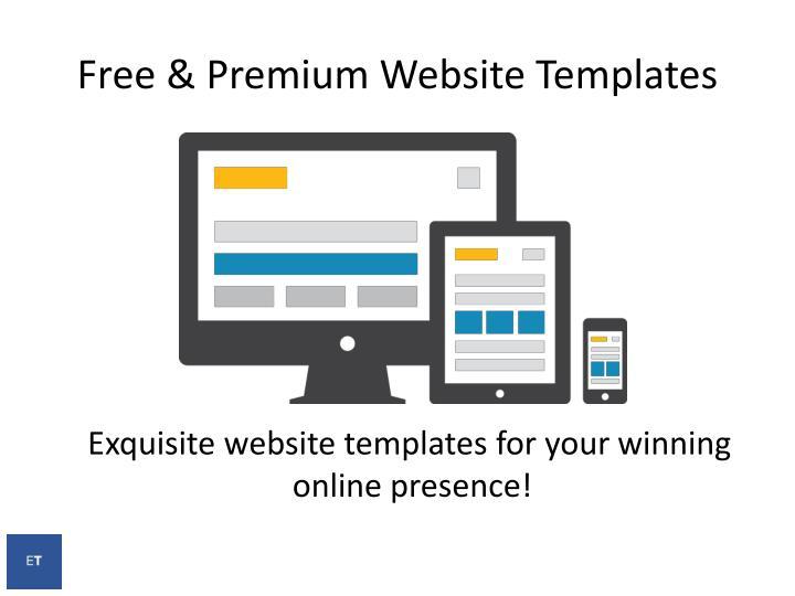Free & Premium Website
