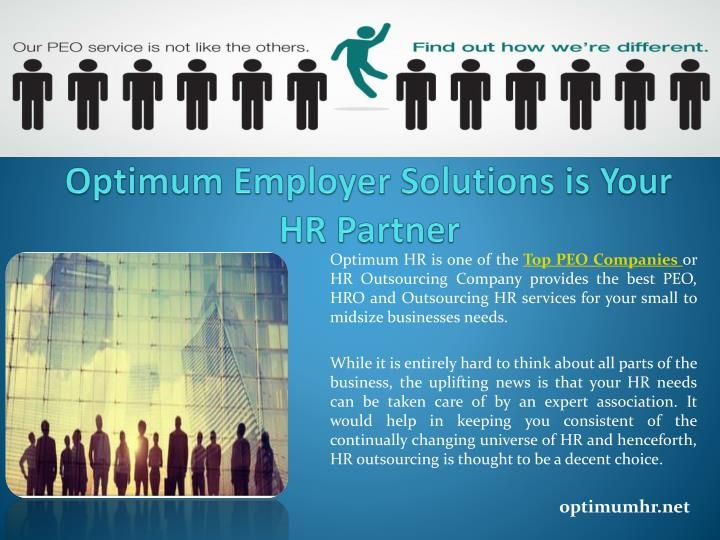 Optimum employer solutions is your hr partner