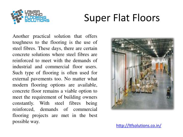 Super Flat Floors