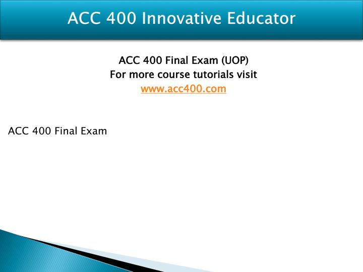 Acc 400 innovative educator1