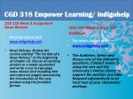 cgd 318 educational tutor indigohelp4