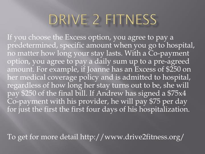 Drive 2 fitness