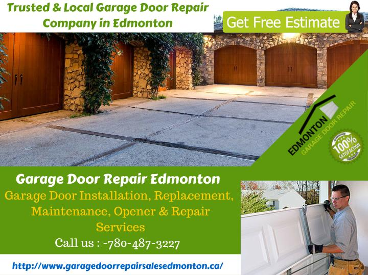 Trusted & Local Garage Door Repair