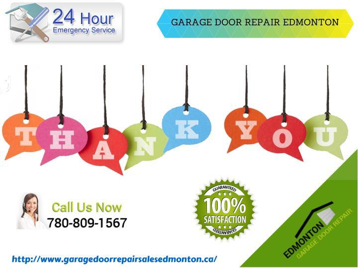 GARAGE DOOR REPAIR EDMONTON