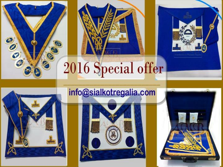 Craft grand rank apron full dress