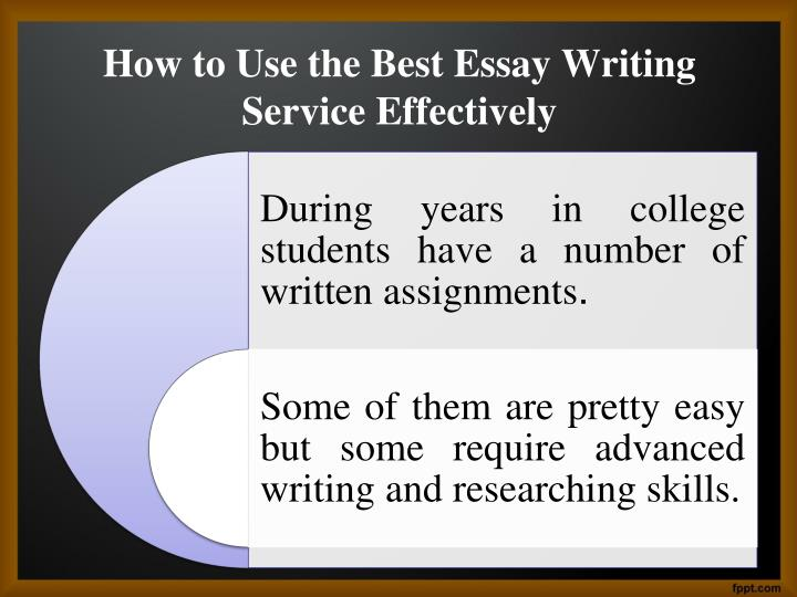 Best essay writer service