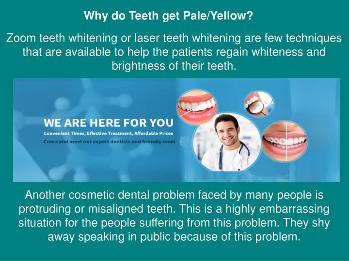Why do Teeth get Pale/Yellow?