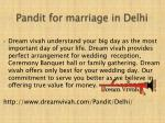 p andit for marriage in delhi