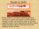 pandit in delhi
