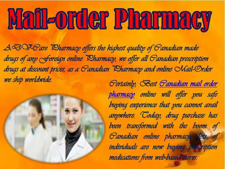 Mail-order Pharmacy