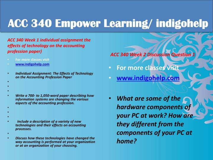 Acc 340 educational tutor indigohelp1