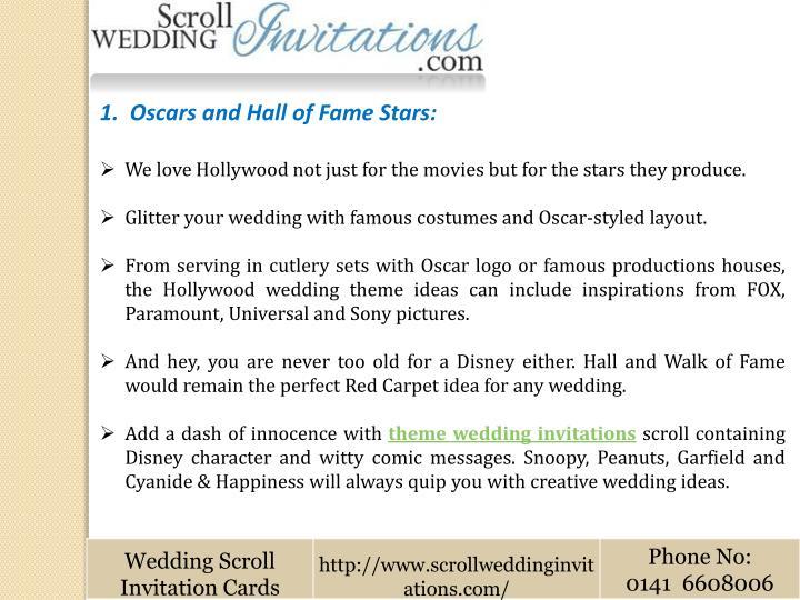 1.  Oscars and Hall of Fame Stars: