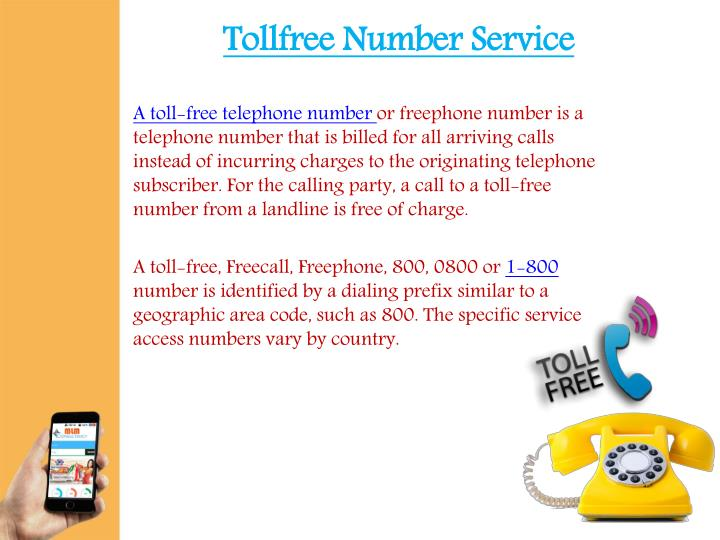 Tollfree Number Service