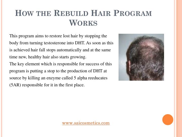 How the Rebuild Hair Program Works