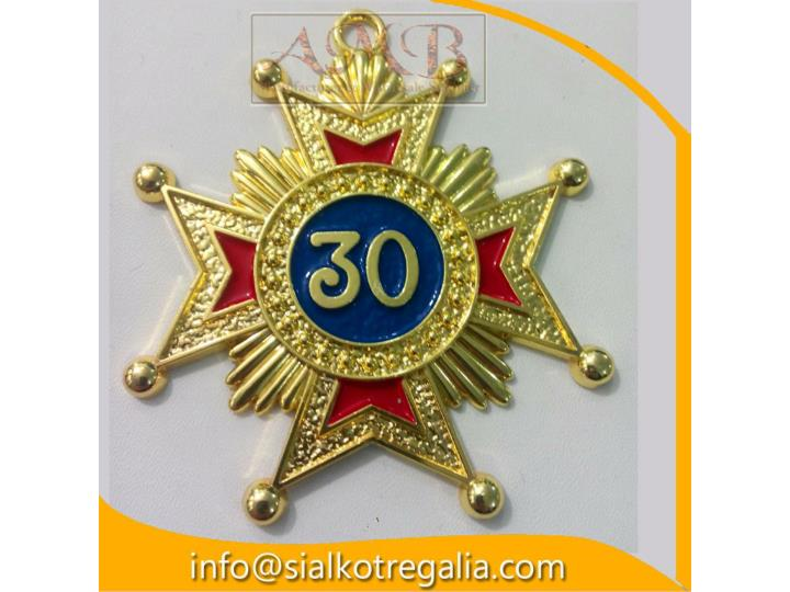 Masonic rose croix 30 degree jewels