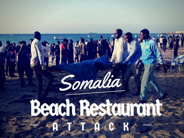 Somalia beach restaurant attack